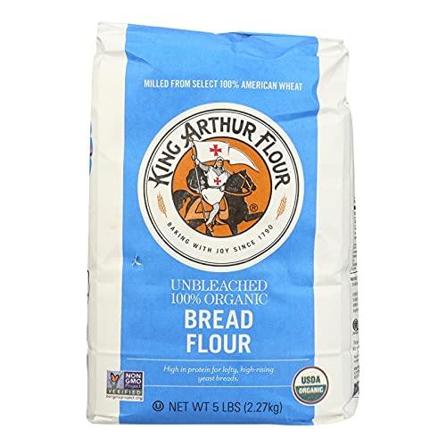 King Arthur Organic Bread Flour, 5 Pound