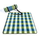Manta de Picnic, Manta Impermeable para Césped,Plegable Anti-Calor Playa Alfombra para Viajes Al Aire Libre Camping Fiesta Senderismo Actividades (200 x 150 cm)
