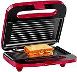 Holstein Housewares-2sección Sandwich parrilla, Rojo, 1