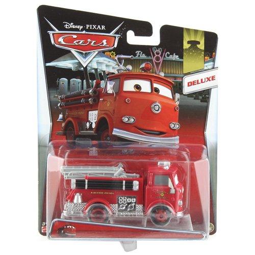 Mattel Y0539 - Disney Pixar Cars Deluxe in Übergröße Die-Cast Vehicle, rot