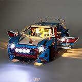 Kit di Illuminazione A LED per (Auto da Rally) Compatibile con Il Modello Lego 42077 Mattoncini da Costruzioni (Non Include Il Set Lego)