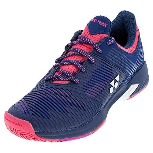 YONEX Sonicage 2 Womens Tennis Shoe (9) Navy/Pink