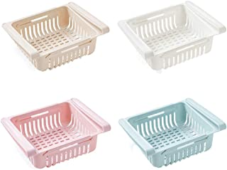 Refrigerator Fridge Drawer Storage Shelf Rack Basket Freezer Plate Layer Container Kitchen Article Draw-Out Hollowing Out ...