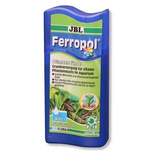 JBL Ferropol Fertilizzante per Acquario in Formato da 100 ml per fertilizzare Fino a 400 Litri