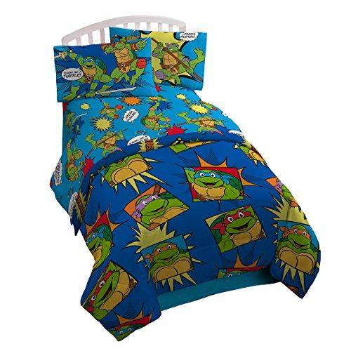 ninja turtle blanket queen - 1