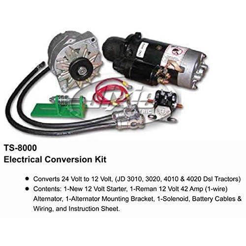 New Alternator for John Deere 3010