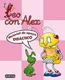 Leo con Álex. Material de apoyo didáctico (Leo con Alex) - 9788424182687