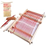 Mikimiqi Wooden Multi-Craft Weaving Loom Large...