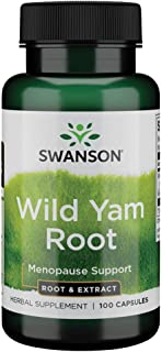 Swanson Wild Yam Root 405 Milligrams 100 Capsules