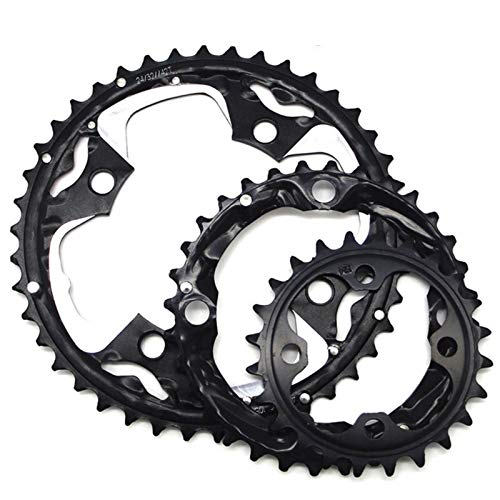 Hojuan Cadena de Bicicletas MTB Anillo Chainring/Fit For/SRAM Universal Bielas 22T / 24T / 26T / 32T / 38T / 42T / 44T 104BCD 64BCD Moto Chainwheel (Color : 42T Alloy)