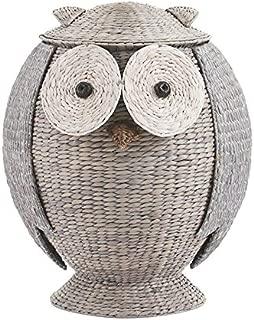 Home Decorators Collection Owl Bathroom Hamper, 28