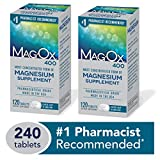 Best Magnesium Supplements - Mag-Ox 400 Magnesium Mineral Dietary Supplement Tablets, 483 Review