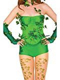 Rubie's Costume Women's DC Comics Poison Ivy Deluxe Corset with Ivy Leaves, Medium/Large