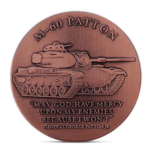 LJIE Moneda Moneda Moneda Conmemorativa del Ejército de EE.UU. M60 Ba
