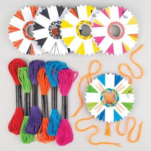 Baker Ross Pulseras, Colores variados, 9,5 cm, 4 Pack