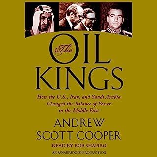 The Oil Kings audiobook cover art