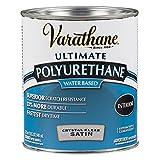 Varathane 200241H Water-Based Ultimate Polyurethane, Quart, Satin...
