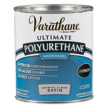 Varathane 200241H Water-Based Ultimate Polyurethane Quart Satin Finish