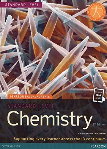 Pearson Bacc Chem SL 2e bundle (2nd Edition) (Pearson International Baccalaureate Diploma: International E)