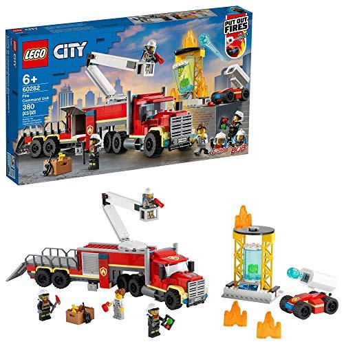 LEGO City Fire Command Unit 60282 Building Kit, New 2021 (380 Pieces) for $48 @ Amazon & Walmart