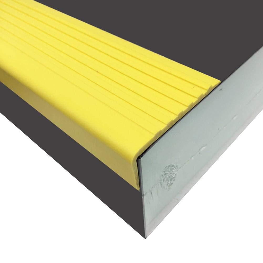 Sponsi Tiras Antideslizantes para escaleras, Tiras para escaleras de PVC Peldaños para escaleras Adhesivos Antideslizantes Tiras Adhesivas para escalones Tiras para Interiores Madera efficient: Amazon.es: Deportes y aire libre