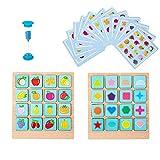 Tkdncbec Interesse Tier passender Form Tischspiel-Set für Jungen / Mädchen Geburtstagsgeschenke Denkspiel Spielzeug für Kinder 6-8 Kinder Partyspiel Chunseng Sagen gut