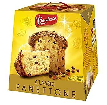 Bauducco Panettone Classic Moist & Fresh Traditional Italian Recipe Holiday Cake 26.2oz