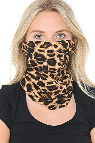 Triple9 Automotive Gear Balaclavas Seamless Face Mask Bandanas (Animal Print 1)