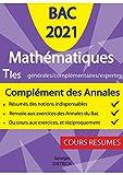 Mathématiques Tles générales/complémentaires/expertes: Complément...