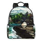 Schulranzen,Totoro College Bags, Auffällige Studentenrucksäcke Zum Klettern Auf Reisen,37cm(H)...