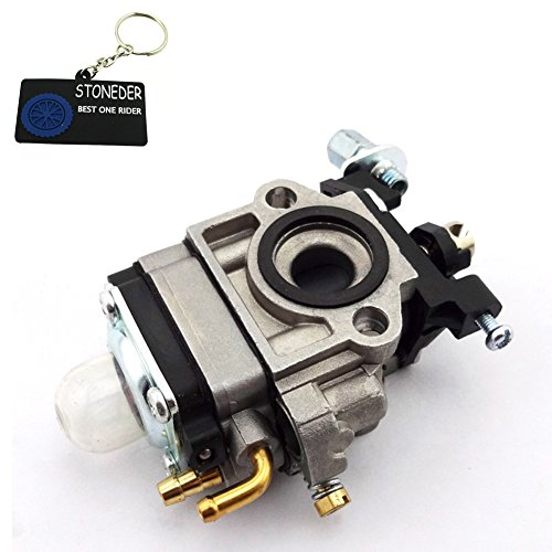 STONEDER Minimoto 10 mm Carb Carburador Para 26cc 33cc Engine Kragen Zooma Bladez 2 Stroke Stand Up Gas Goped Scooter