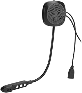 Headset, with Mic, Helmet Earphone, Bluetooth 5.0 for Motorcycle,