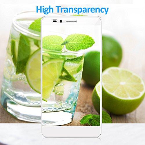 CRXOOX Panzerglas Schutzfolie für Huawei Honor 5X, [2 Stück] Transparent und Ultra-Clear Hartglas Displayschutzfolie, 9H Härte - 6