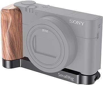 SMALLRIG L-shaped Wooden Handgrip for Sony RX100 III IV V VA  VI VII L...