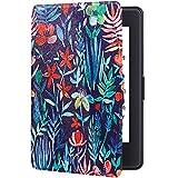 Funda Amazon Kindle 2016 8th Generación Funda Kindle Basic 2 Piel Silicona Flip 360° Protección Shell Automáticos Despertados o Sueño Función Magnética Case para Kindle 8