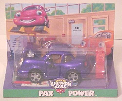 Chevron Cars Pax Power with Gas Can, 2 Piece Set, Collectible, Race Car by Chevron