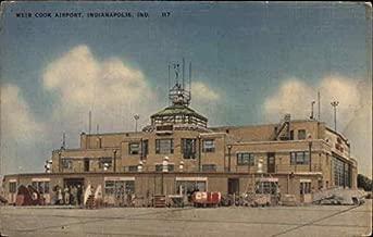 Weir Cook Airport Indianapolis, Indiana Original Vintage Postcard