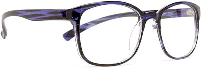 Computer Glasses by Phonetic Eyewear Bravo (Ocean Blue Navy Stripe)