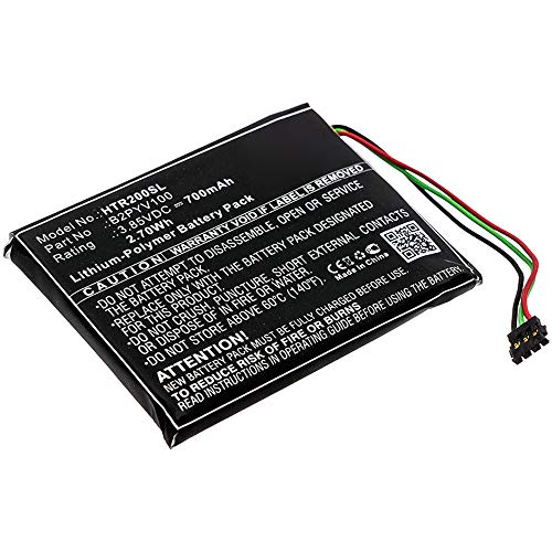 subtel® Qualitäts Akku kompatibel mit HTC Vive Tracker, B2PYV100 700mAh Ersatzakku Batterie