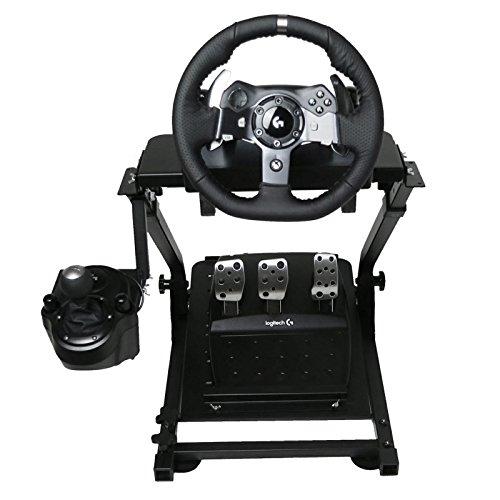 OldFe G920 Steering Wheel Stand Per Logitech G27 G25 G29 E G920 Volante Con Supporto V2 Supporto Giochi Solo Supporto Non Incluso Volante E Pedale