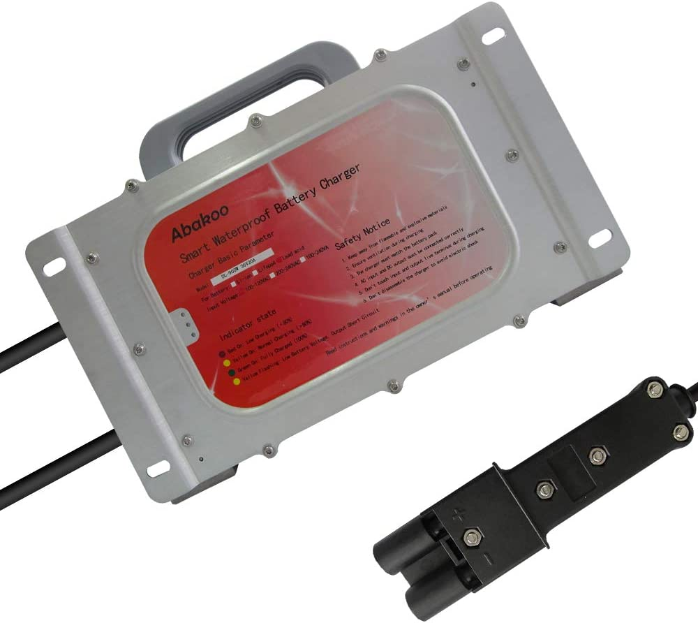 Ranking TOP10 36V 20A Battery Charger for Yamaha Golf Plug with excellence IP Cart 2 Pin