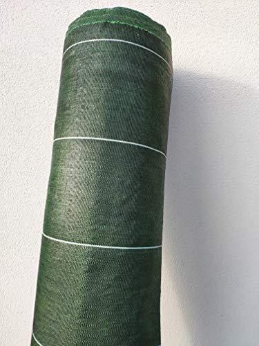 130g/m2 Toile Bache de paillage tissée Anti-Mauvaises Herbes Largeur 4,15m Longueur 25m