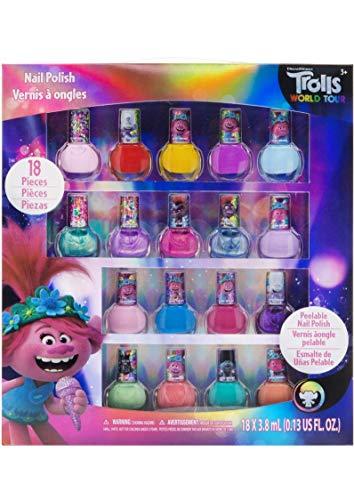 Townley Girl Dreamworks ungiftiger abziehbarer Nagellack, Luxus-Kinderset, teilweise mit Glitzer...