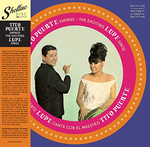 Tito Puente Swings The Exciting Lupe Sings Lp [Vinilo]