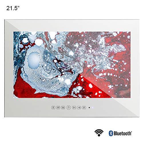 Soulaca 21.5 inches Waterproof Android Vanishing Mirror Bathroom 1080HD LED TV