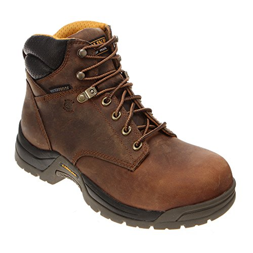 "Men's Carolina 6"" Waterproof Broad Toe Work Boots, Copper, 11EE [Apparel]"
