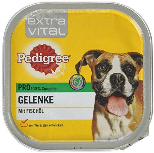 Pedigree Hundefutter Nassfutter Extra Vital Pro Gelenke, 10 Schalen (10 x 300g)