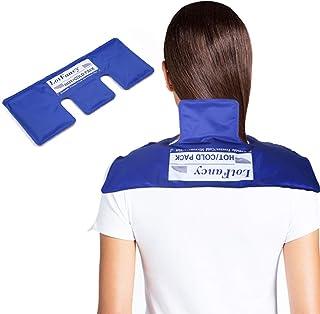 LotFancy Neck Ice Pack - Hot Cold Therapy Wrap for Shoulder, Cervical, Back - Cool Gel Pack for Arthritis, Tendonitis, Spo...