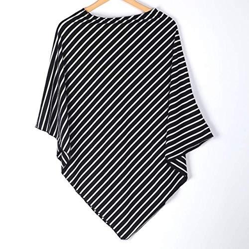Buy Bargain Utini New Born Baby Nursing Scarf Shawl Wraps Striped Polyester Multi-Use Stretchy Trian...