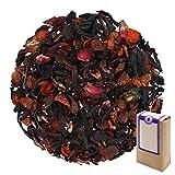 Núm. 1124: Té de frutas orgánico 'Mezcla de bayas' - hojas sueltas ecológico - 250 g - GAIWAN® GERMANY - hibisco, rosa mosqueta, saúco, remolacha